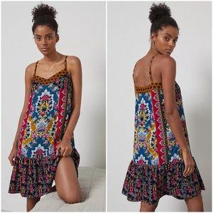 Anthropologie Zadie Velvet Slip Dress, Size Medium